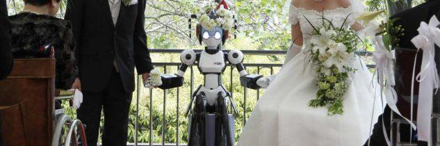 Giappone: sposati da un robot