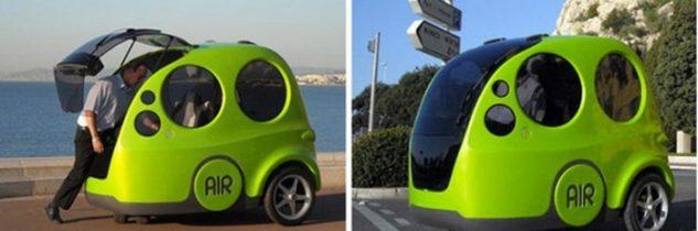Auto ad aria: 200km con un euro e zero emissioni