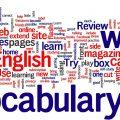 Nuvola di parole inglesi