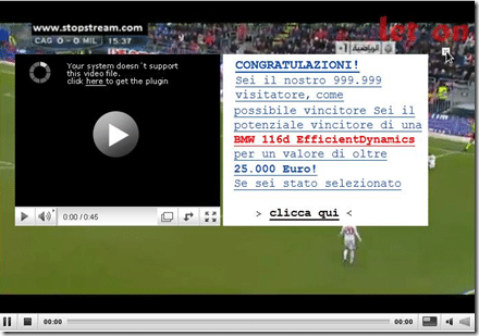 Partite in streaming 8