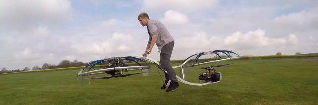 La moto volante di Colin Furze, scienziato pazzo su YouTube