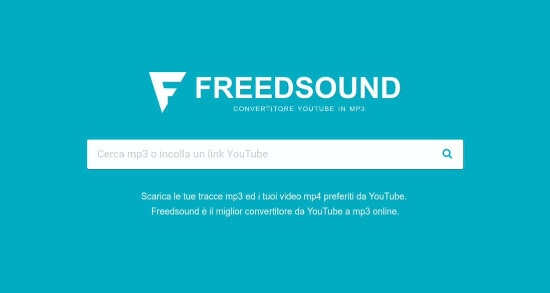 freedsound scaricare musica gratis da youtube download free mp3