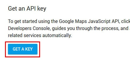 Google Maps API - Get a key