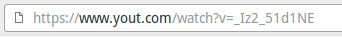 Modificare l'indirizzo URL del video 2
