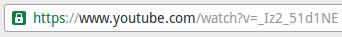 Modificare l'indirizzo URL del video