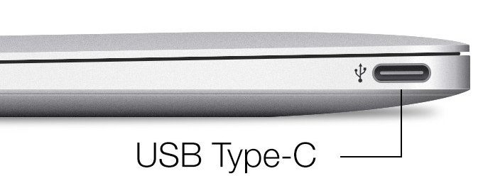 USB Type-C su Macbook