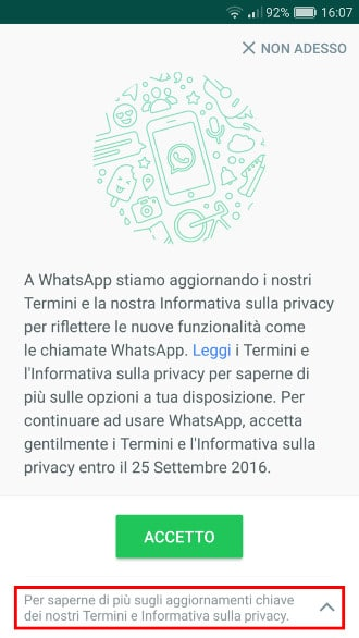 Whatsapp e Facebook - Dati incrociati 1