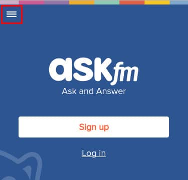Ask login in italiano - Passo 1