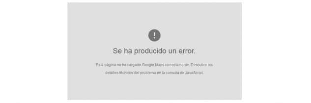 Google Maps API error: MissingKeyMapError [RESUELTO]