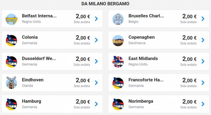 Ryanair voli a due euro - Nuovi posti.png