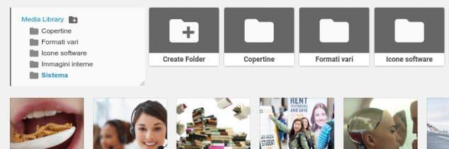 Come organizzare media in cartelle su WordPress