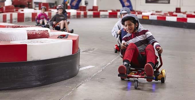 Hoverboard Kart Race