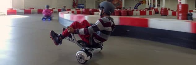 Hoverboard kart trasforma il tuo hoverboard in go kart!