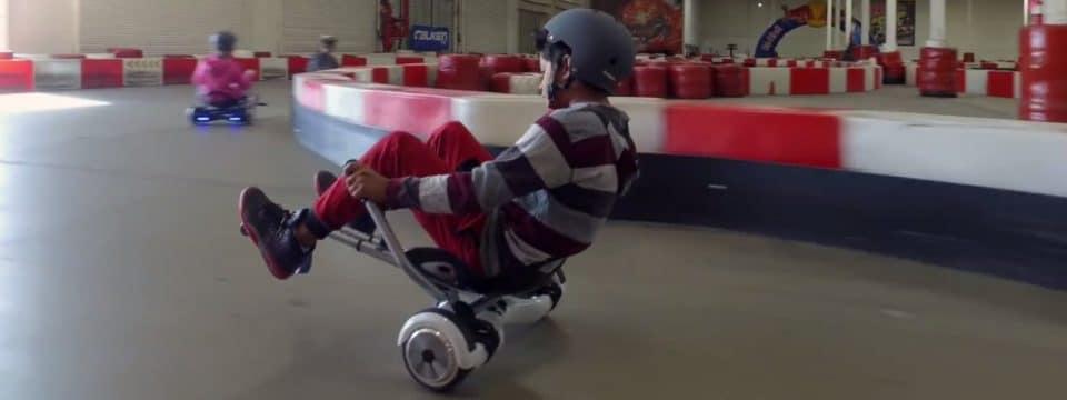 Hoverboard kart trasforma il tuo hoverboard in go kart!