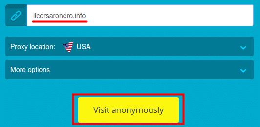 Corsaro Nero Proxy Vpn